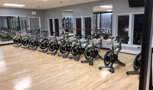 Spinning Bikes and classes in Studio